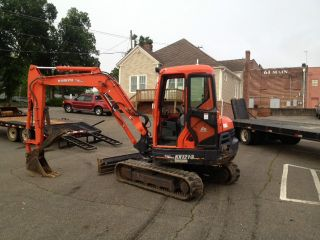 Kubota Kx 121 - 3 Mini Excavator photo