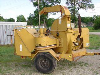 Vermeer Chipper Perkins Diesel Only 657 Hours Model 1250bc photo