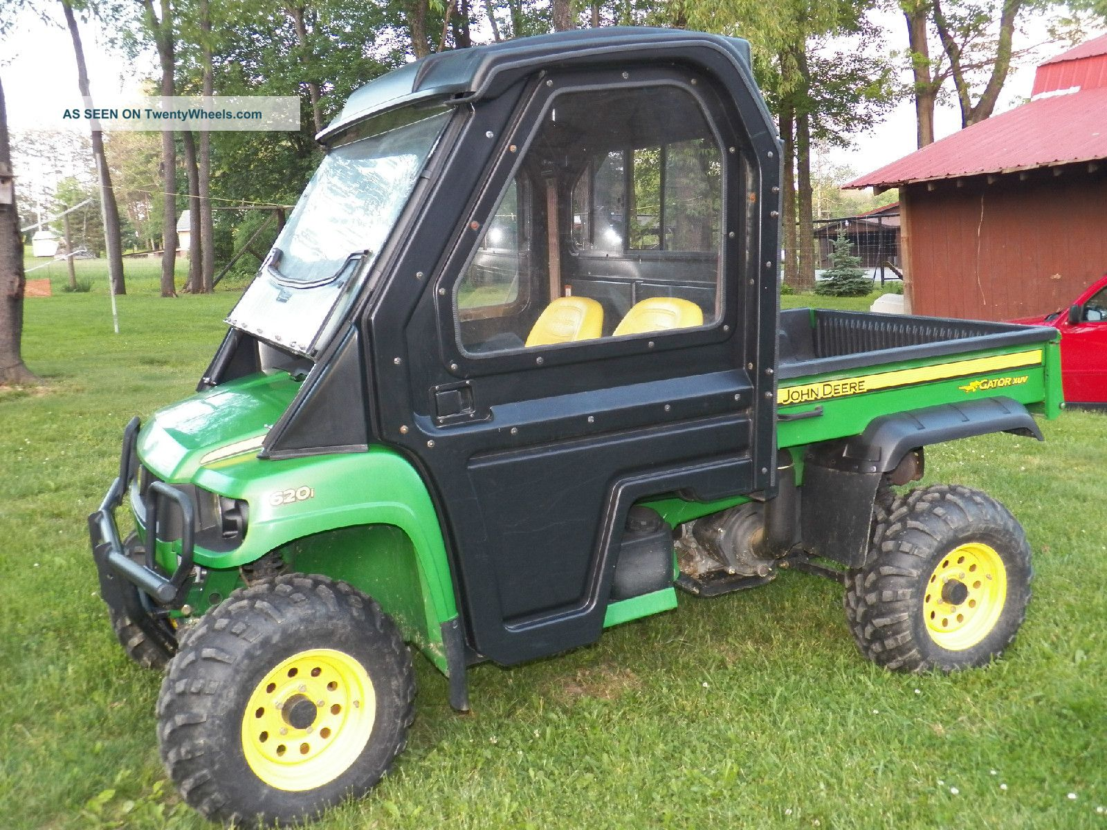 John Deere Xuv 620i Gator Utility Vehicle High Performance Kawasaki Engine Utility Vehicles photo