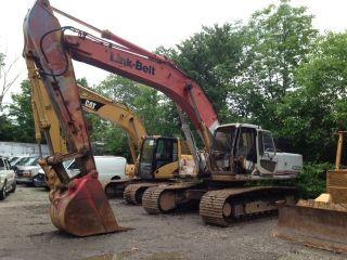 Link Belt Excavator photo