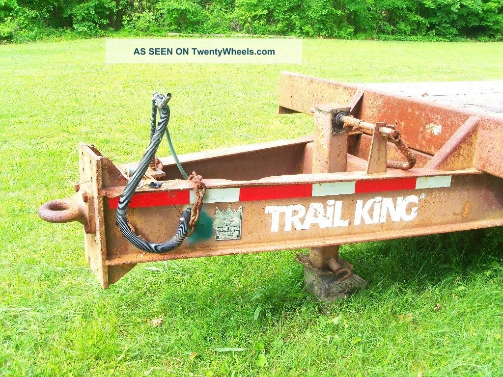 Heavy Equipment Trailer : Heavy duty equipment trailer