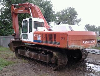 Hitachi Fx310lc Excavator photo