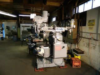 Wells Index Model 837 Mill With Shaper Head photo