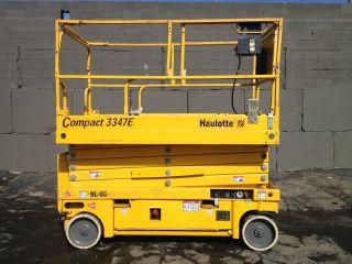 2006 Haulotte 3347e,  33 Ft.  Electric Scissor Lift photo