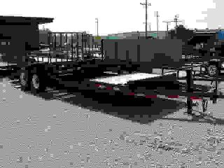 14,  000 Gvw 16+5 Tilt Trailer With Torsion Axles Alum Wheels photo