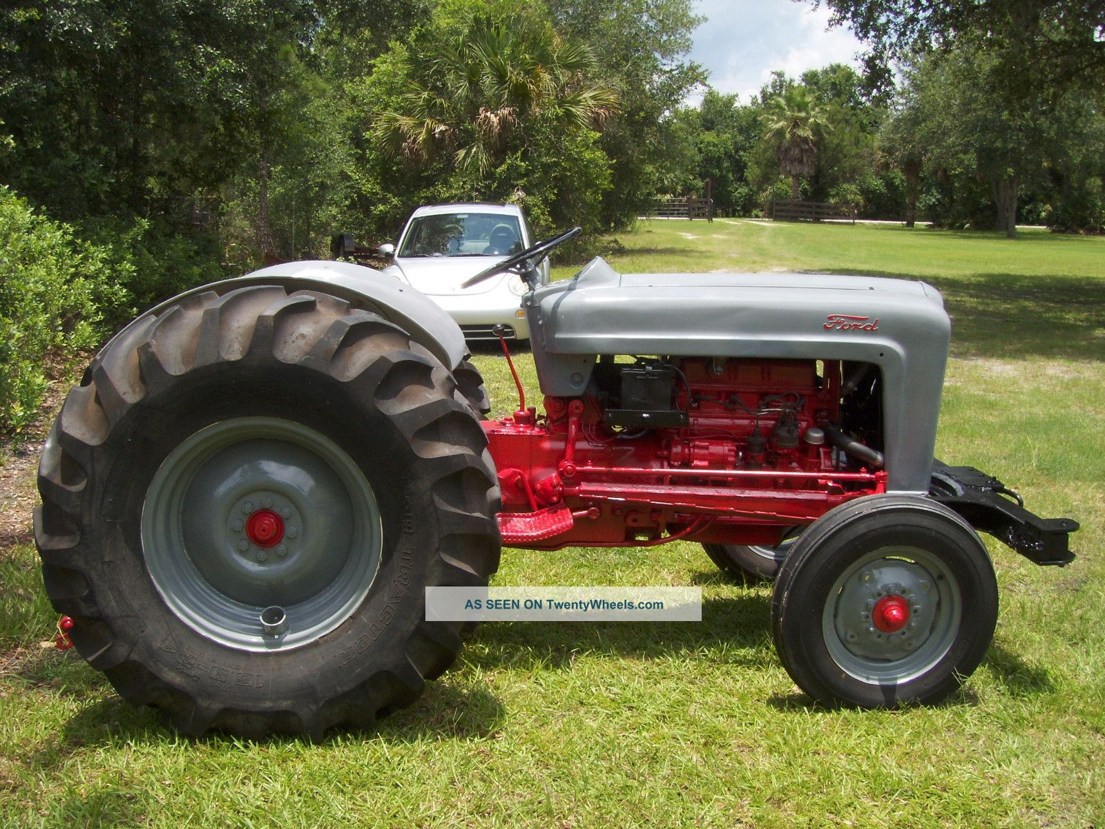 Ford Jubilee Specifications : Ford naa jubilee tractor