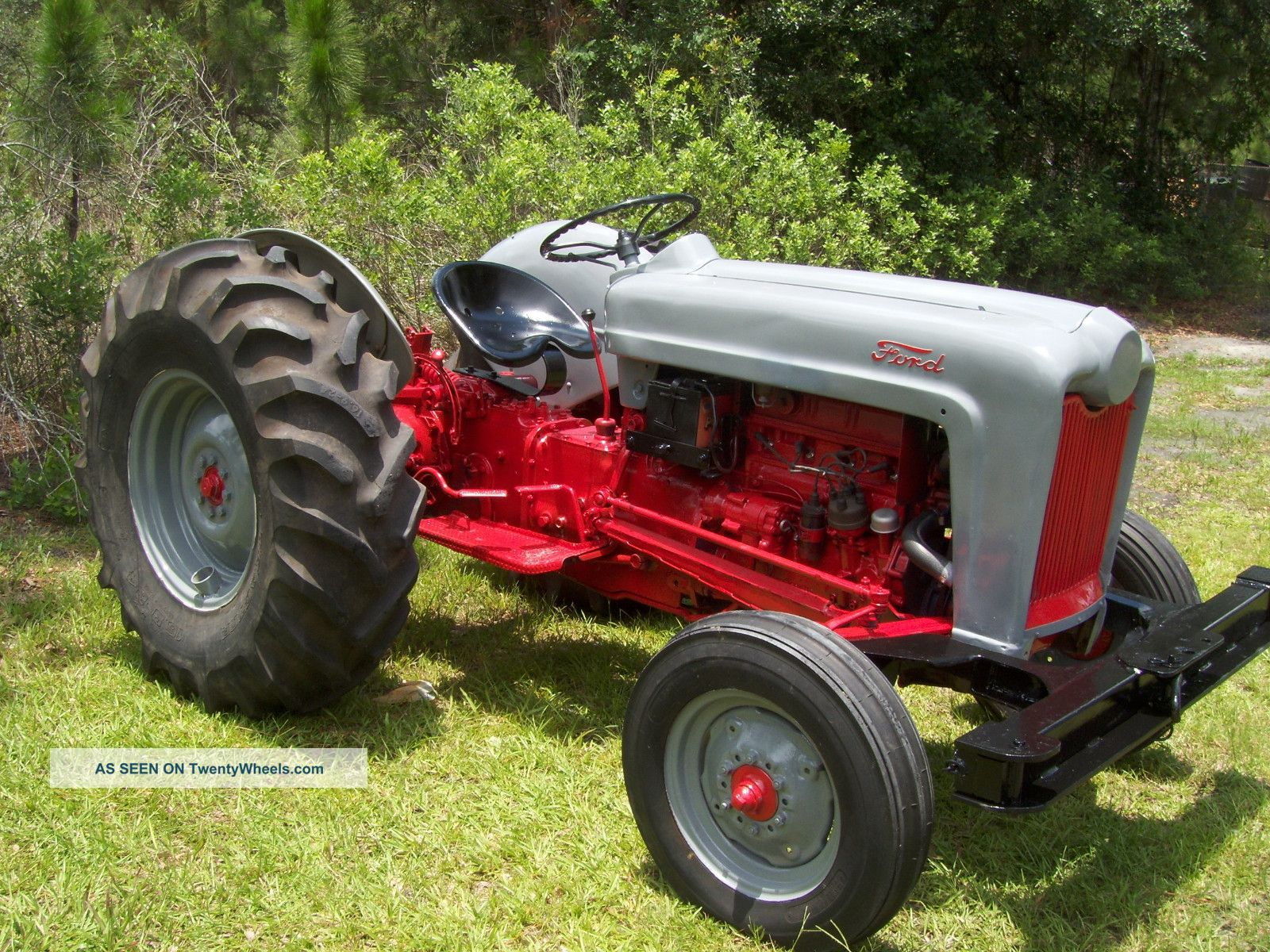 Ford Jubilee Parts : Antique ford jubilee naa specs tractor