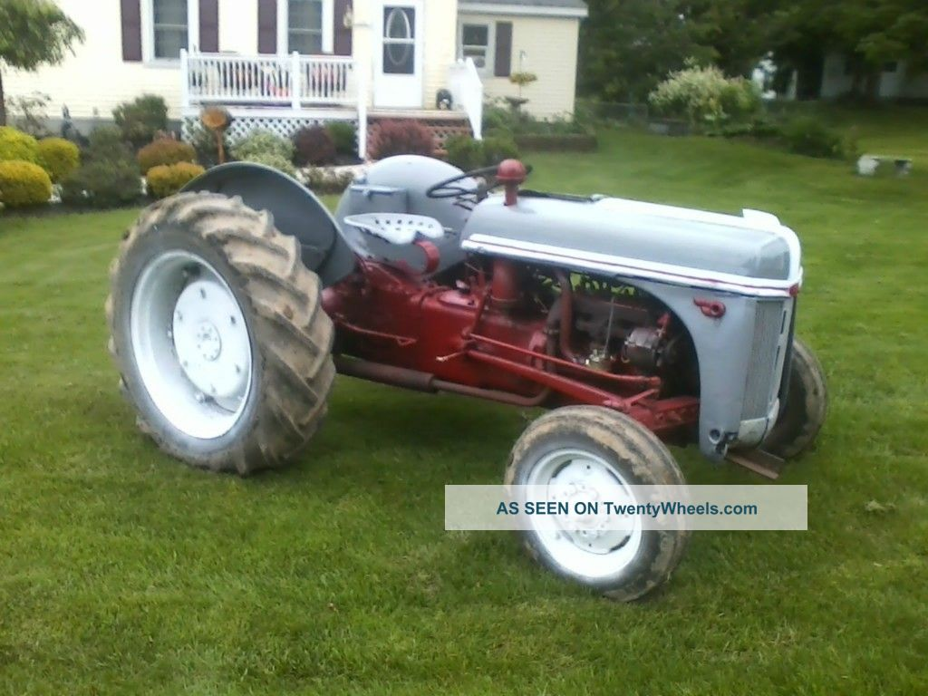 2n Ford Tractor Rims Used : Ford n tractors collecting restoring and using