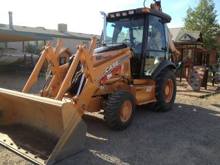 2007 Case 580sm Series 2 Backhoe 4x4,  Extendahoe, ,  740 Hrs photo