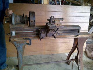 Rivett 608 Lathe W/lots Of Accessories photo