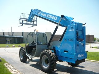 2007 Genie Gth842 Telescopic Terex Th842c Telehandler Forklift Reach Lift photo