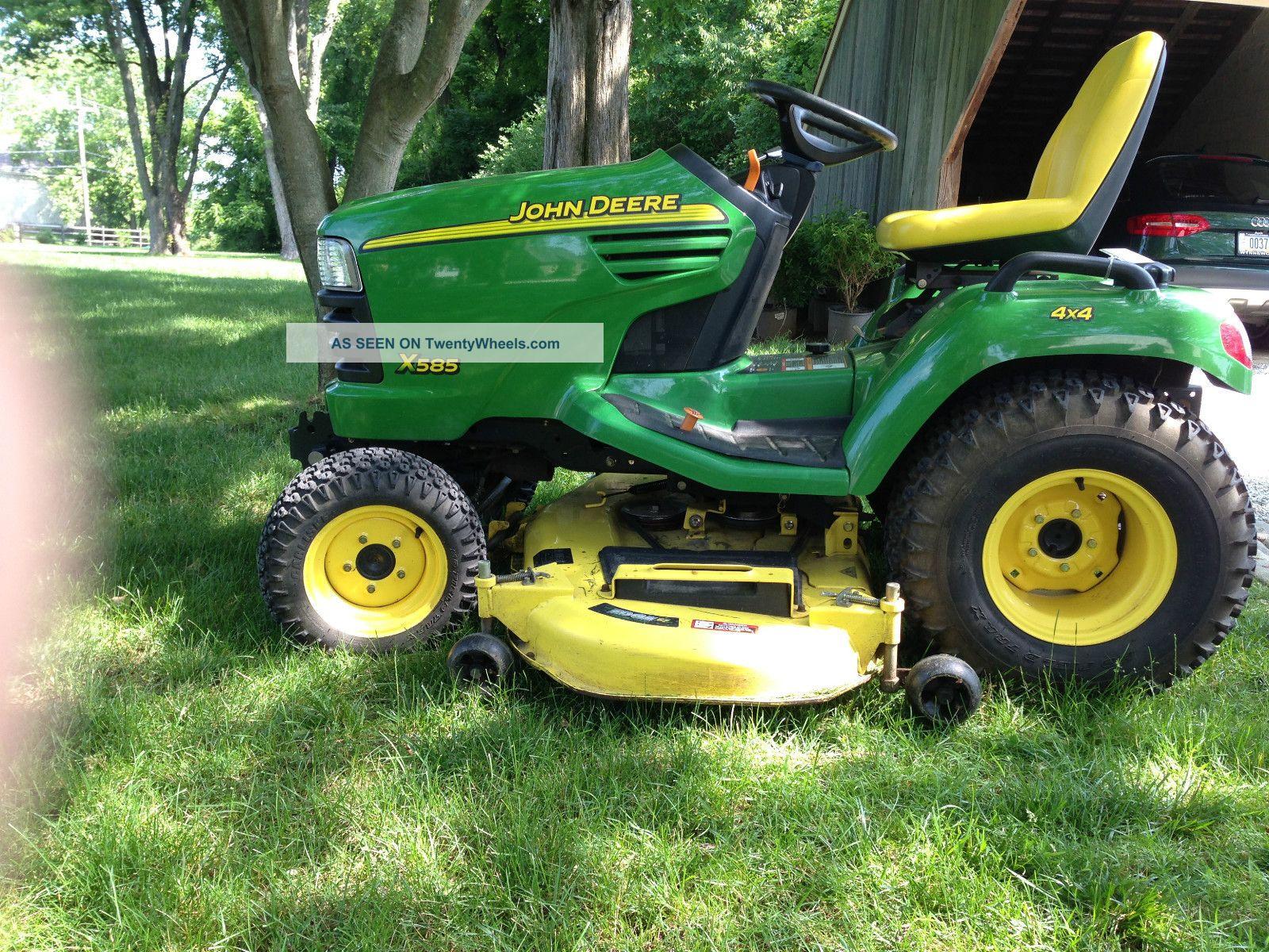 John Deere Garden Tractors 4x4 : John deere garden tractor quot deck kawasaki