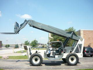Terex Genie Th1056c Gth Telehandler Reach Forklift John Deere Turbo Telescopic photo