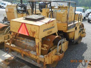 Dynapak Double Drum Roller / Compactor,  Mod Cc - 21a,  Ser No 659 D30 photo