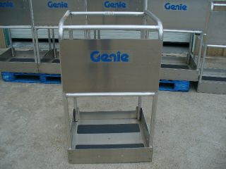 2013 Genie Awp Platform Basket Personnel Single One Man Lift Scissor Boom Nr photo