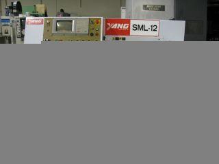 1997 Yang Sml - 12 Gang Tool Cnc Lathe Mitsubishi Control photo