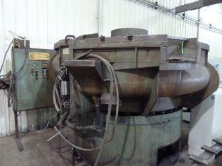 Roto Finish 10 ' Dia.  Bowl Vibratory Mill,  790 photo