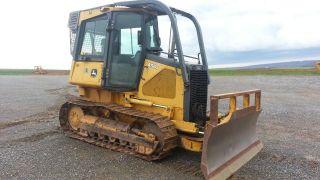 2005 John Deere 450j Lt Crawler Track Loader Construction Machine Bulldozer. . . photo