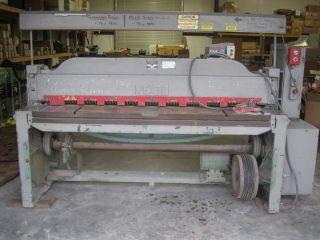 Pexto Model 14 - U - 6e,  10 Gauge Shear,  72