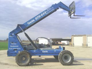 Genie Gth644 Gth 644 Forklift Telehander Shooting Boom Aerial Lift Telescopic photo