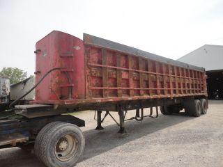 Steel Dump Trailer photo