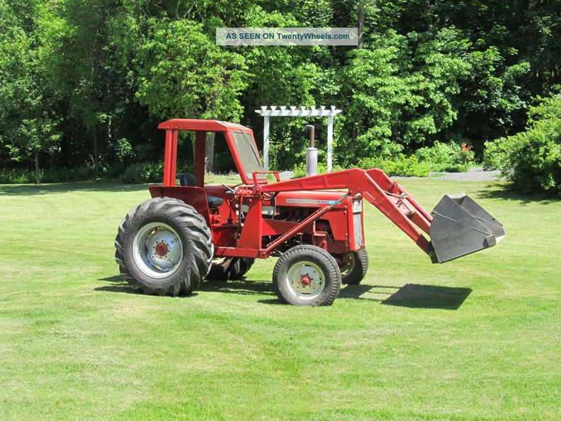 Ih Tractor Loaders : Tractor international with front loader