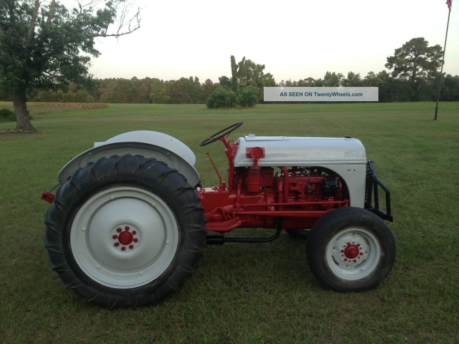 Old Ford Farm Tractors : N ford tractor