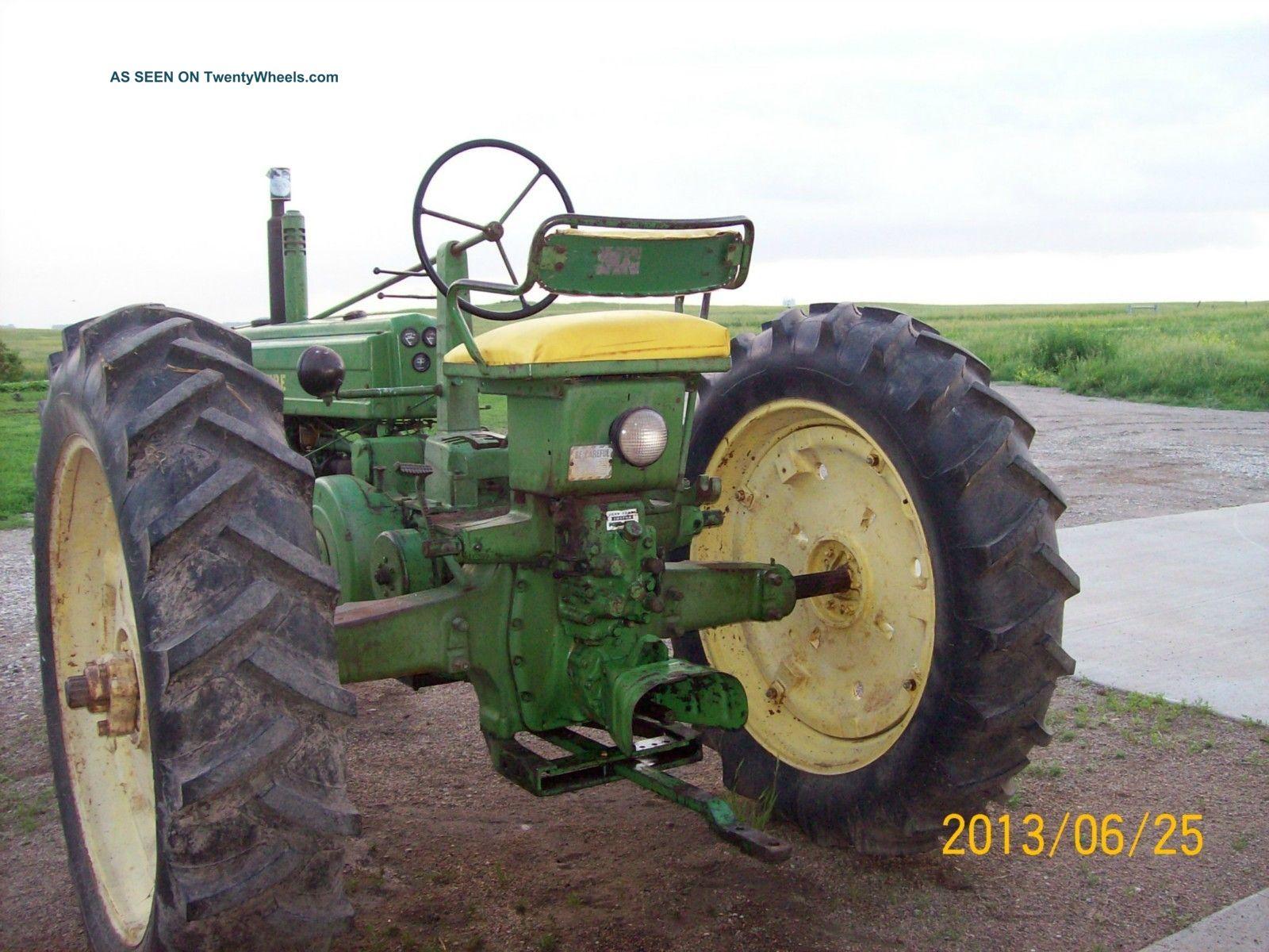 Antique Tractors Equipment : Antique tractor b john deere