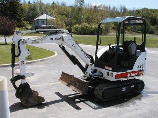 2007 Bobcat 325g Excavator photo