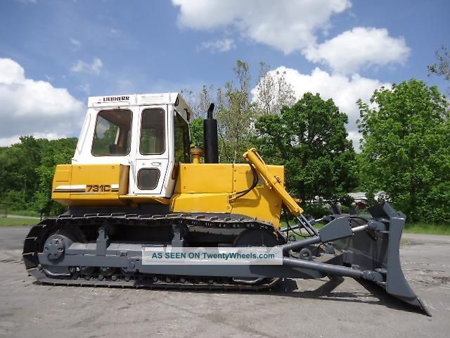 Liebherr Pr 731c Crawler Dozer 150 Hp Joystick Drive Crawler Dozers & Loaders photo