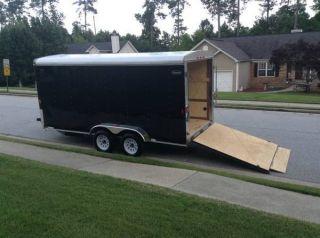 2013 7x16 Enclosed Cargo Trailer photo