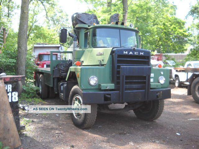 1970 Mack Truck : Mack dm sx