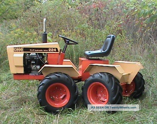6x6 Articulated Tractor Utility Vehicle