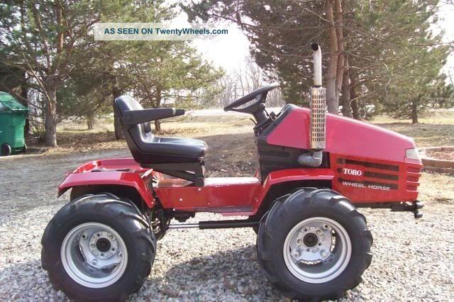 Garden Tractor Custom Truck : Custom built articulating garden tractors car interior