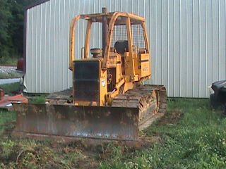 1990 John Deere 650g Bulldozer 6 Way Blade Wide Track - One Owner photo