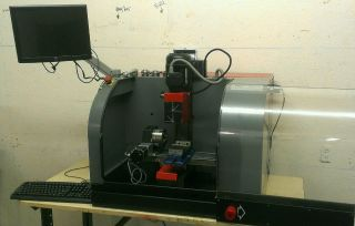 Converted Emco Pc 50 Mill Cnc With 4th Axis Mach3 Control 3200rpm Spindle photo