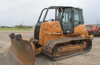2008 Case 1150k Wt Crawler Dozer,  Enclosed Cab With Rippers photo
