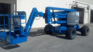 2005 Genie Z45/25j Aerial Manlift Boom Lift Man Articulating Boomlift 45 ' Lift photo