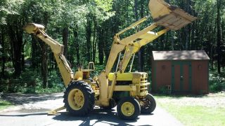 Backhoe/loader photo