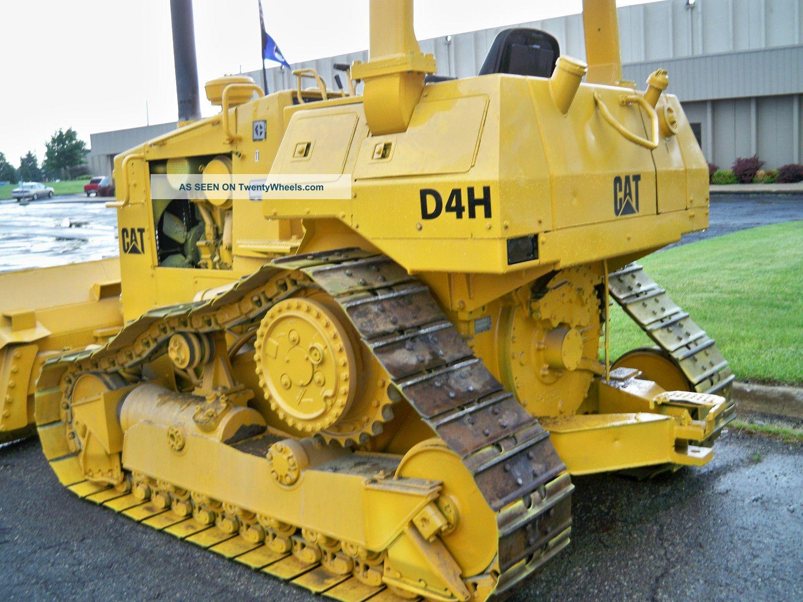 Cat D4h Dozer 1989