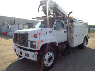 1997 Gmc 8500 Digger Derrick Boom Crane photo