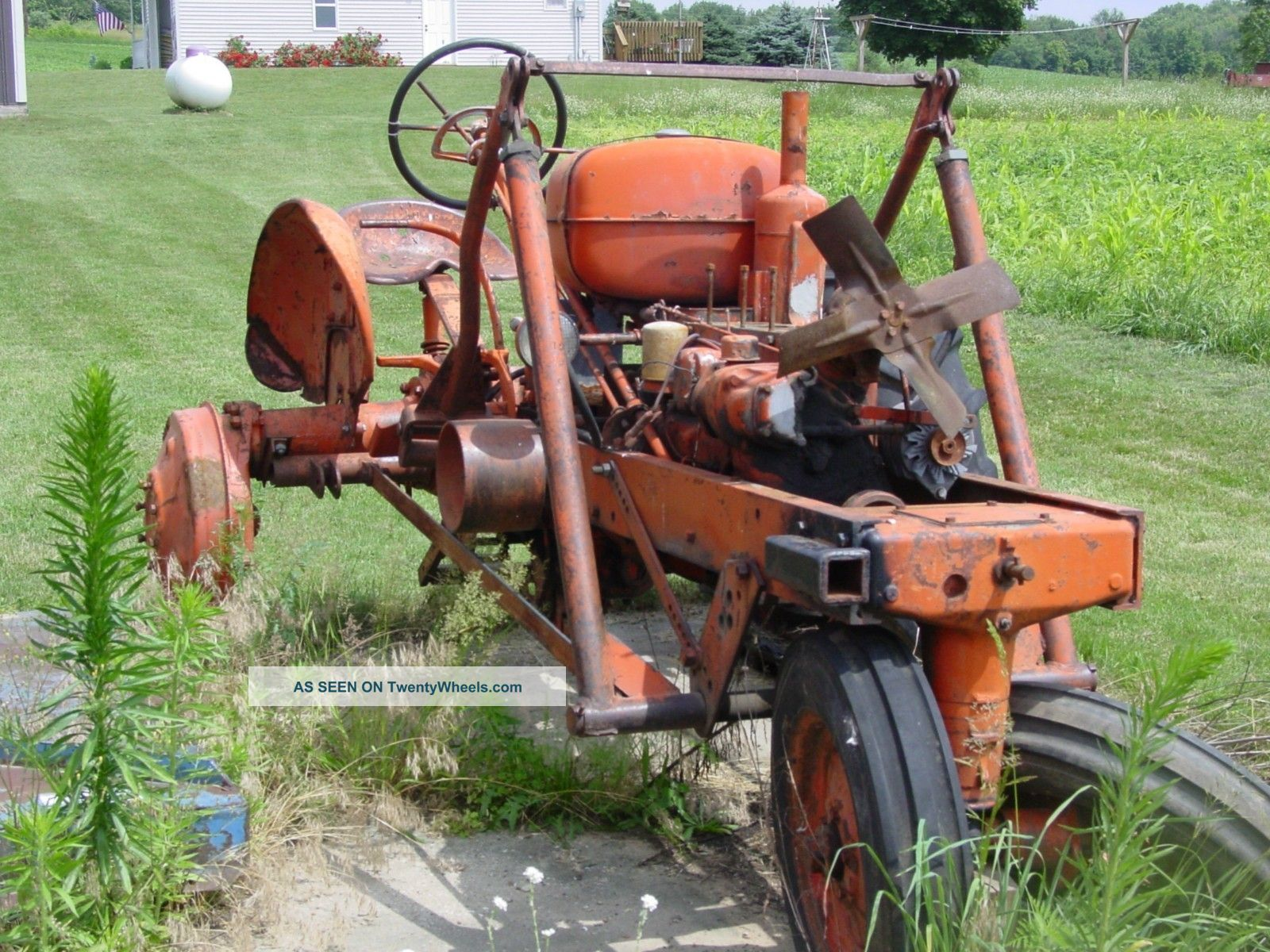 Allis Chalmers Wd45 Running Tractor And Wd Parts Tractor