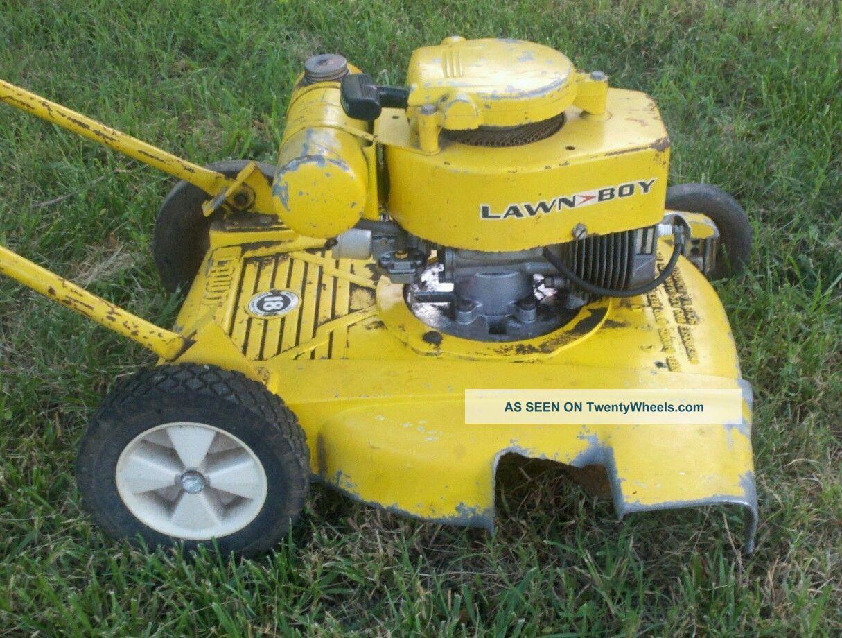 Rare Antique Vintage 1962 3051 Buttercup Lawnboy Push Mower