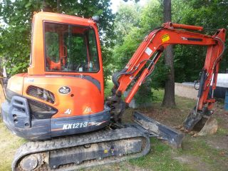 Kubota Kx121 - 3 Mini Excavator W/pj Trailer (va) photo