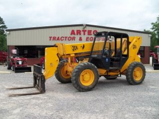 2005 Jcb 506c Hl Telescopic Forklift - Loader Lift Tractor - Low Hrs photo