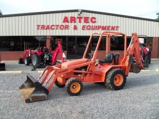 2007 Allmand Tlb325 Loader Backhoe Tractor - Machine photo