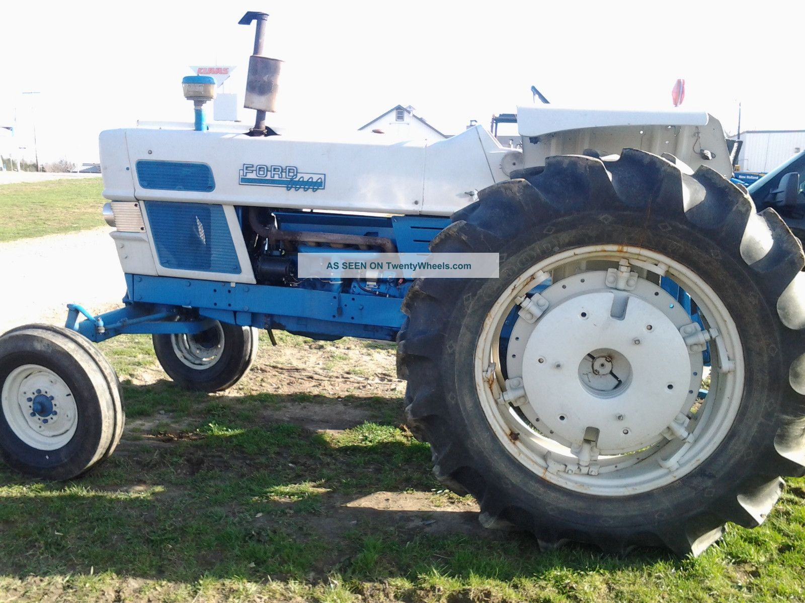 Ford 6000 Tractor Parts : Ford n tractor parts specs and information