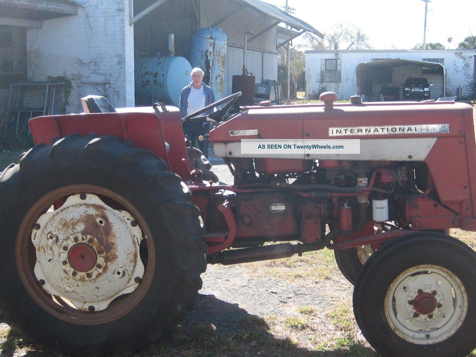 International 444 Tractor Seat : Texas used tractors farm equipment combines