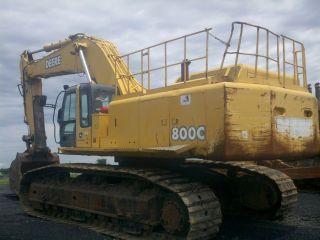 John Deere 800clc Excavator photo