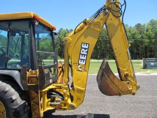 1998 John Deere 310e Loader Backhoe photo